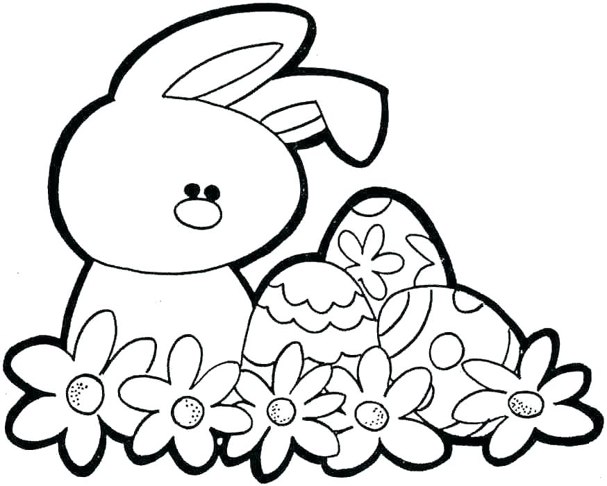 Bunny Coloring Pages For Kids At Getdrawings Com Free For Personal