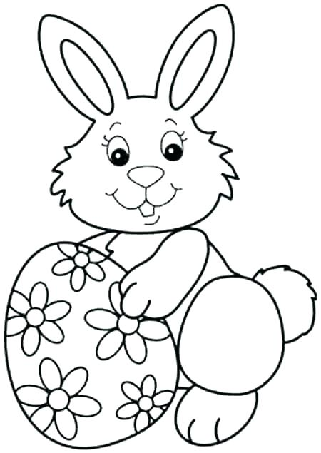 450x635 Bunny Coloring Lesson Coloring Pages For Kids Coloring Free