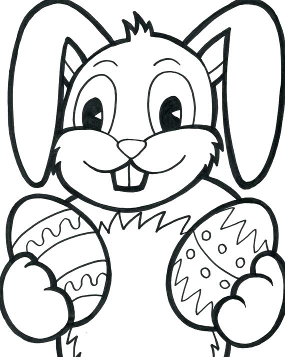 570x714 Coloring Pages For Easter Printable Printable Bunny Coloring Pages
