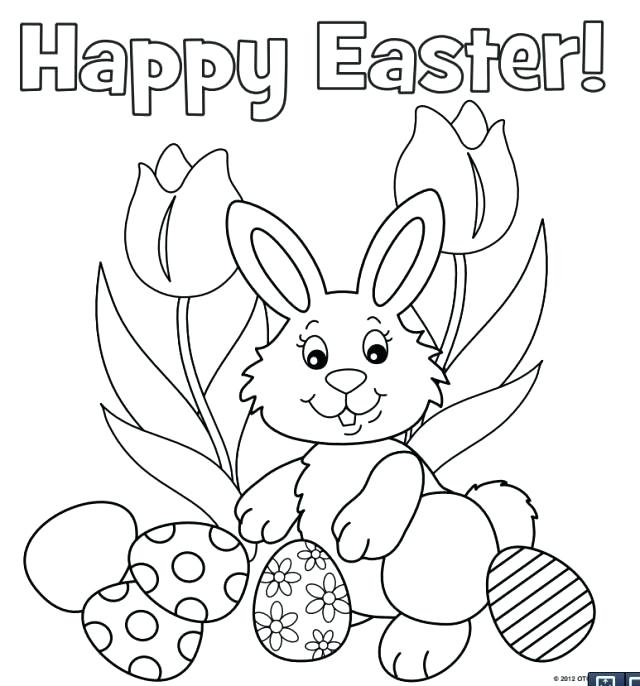 640x686 Easter Bunny Coloring Pages Best Bunny Coloring Pages