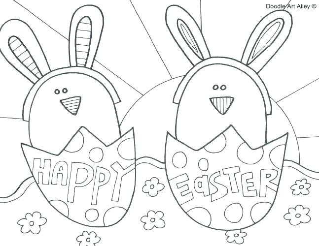 647x500 Easter Bunny Coloring Pages Free Printable Coloring Pages