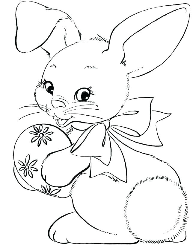 644x820 Free Rabbit Coloring Pages Free Printable Bunny Rabbit Coloring
