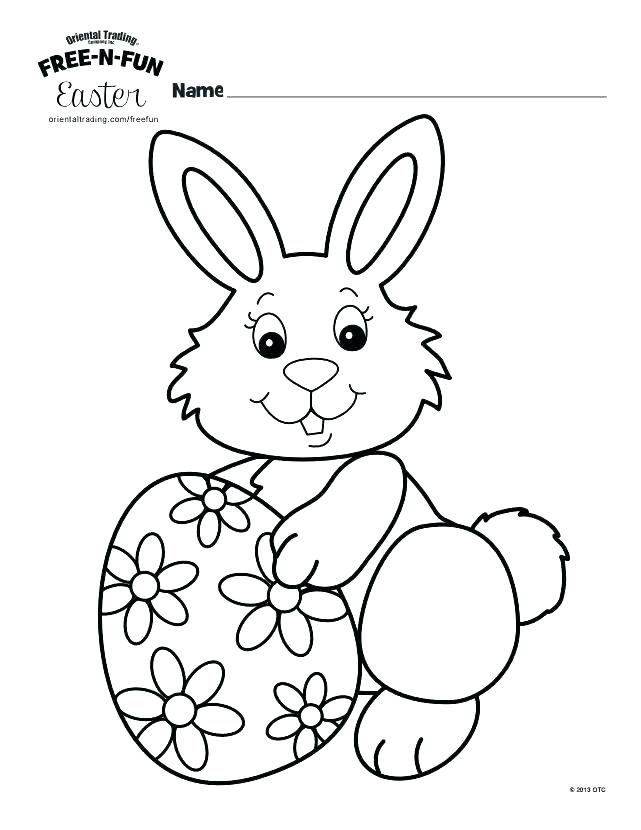 641x830 Bunny Rabbit Coloring Pages