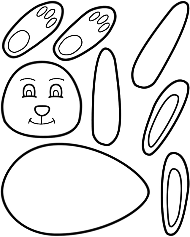 640x800 Ear Coloring Page Best Of Printable Easter Bunny Easter Bunny Ears