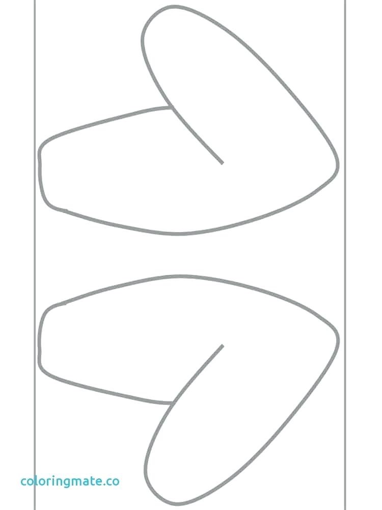 750x1000 Ear Coloring Page Ear Coloring Page Fresh Bunny Ears Coloring