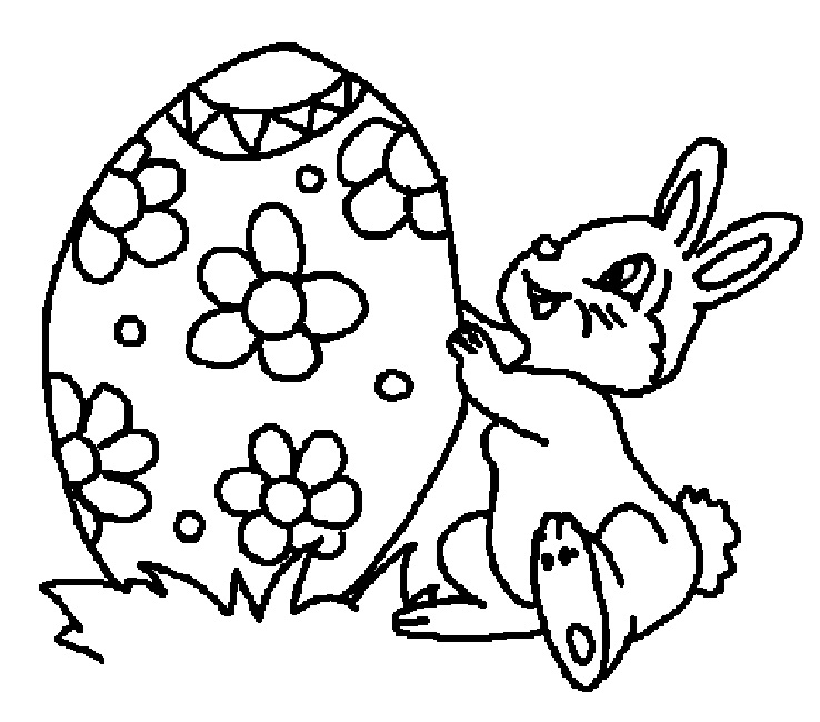 738x650 Easter Coloring Pages For Grade Animal Easter