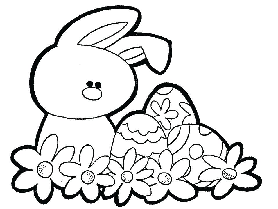 957x718 Bunny Coloring Page Baby Bunny Coloring Pages Coloring Pages