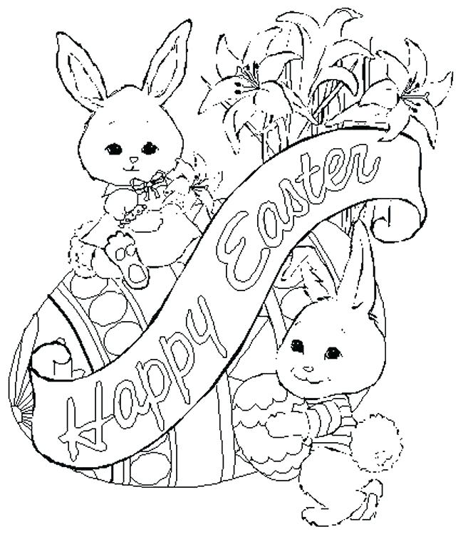 650x750 Coloring Pages Of Easter Eggs And Bunnies Chick Popping Out Of Egg