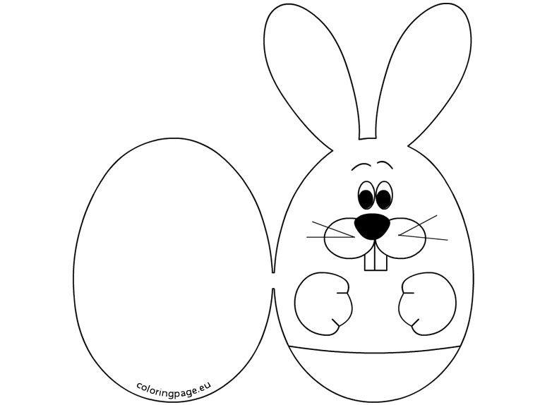 765x574 Easter Bunny Head Coloring Pages Happy Easter