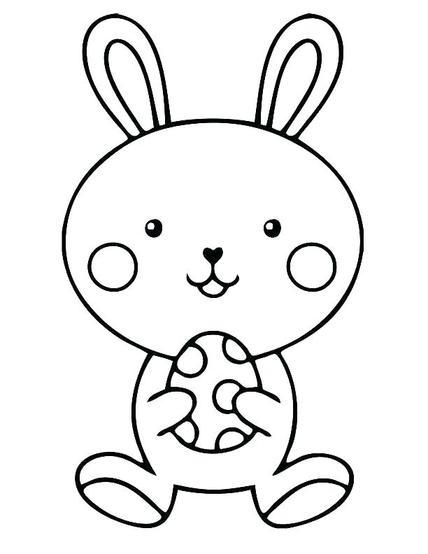 612x792 Rabbit Printable Coloring Pages
