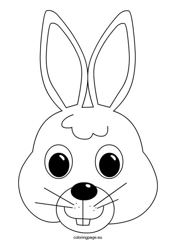 581x803 Bunny Mask Bunny Mask, Bunny And Masking