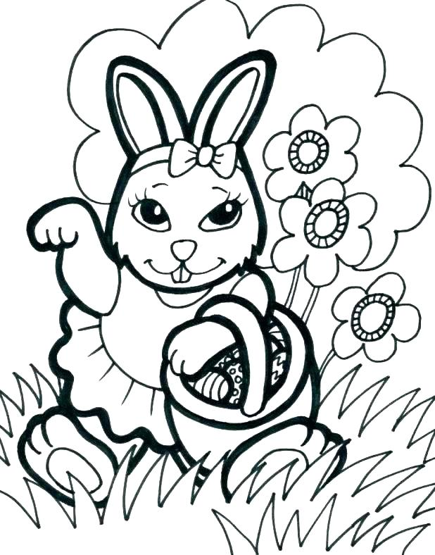 618x788 Bunny Rabbit Coloring Pages Rabbit Printable Coloring Pages Bunny