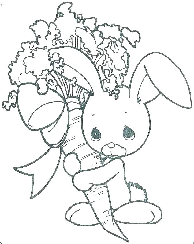 634x794 Rabbit Coloring Pages Bunny Rabbit Coloring Page Bunny Coloring