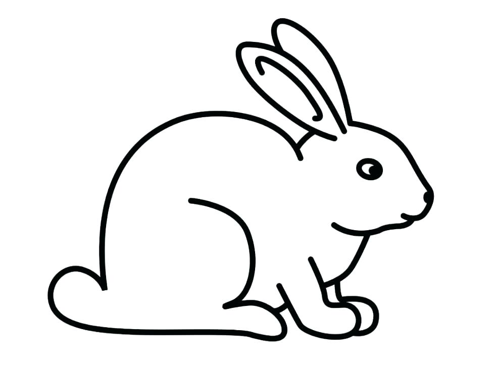 974x731 Bunny Rabbit Coloring Pages Coloring Pages Of Rabbits Rabbit Color