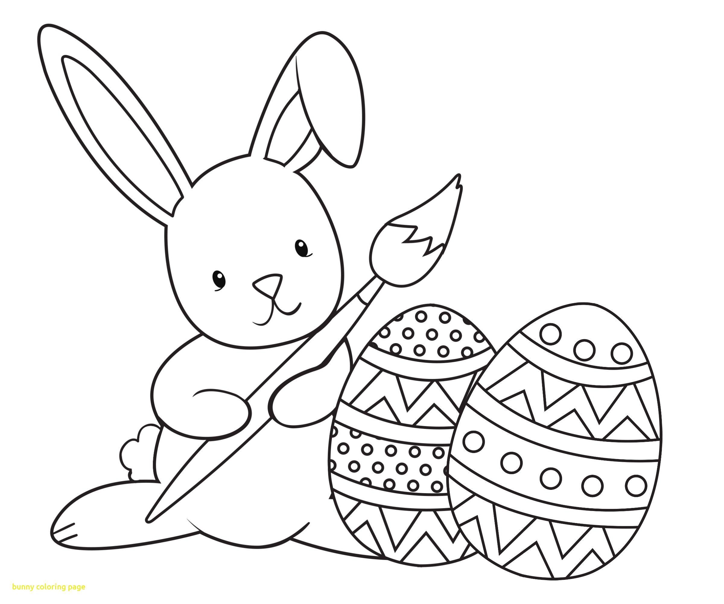 Bunny With Carrot Coloring Pages At GetDrawings.com