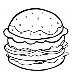 250x250 Cheeseburger Coloring Pages Cheeseburger Nathan