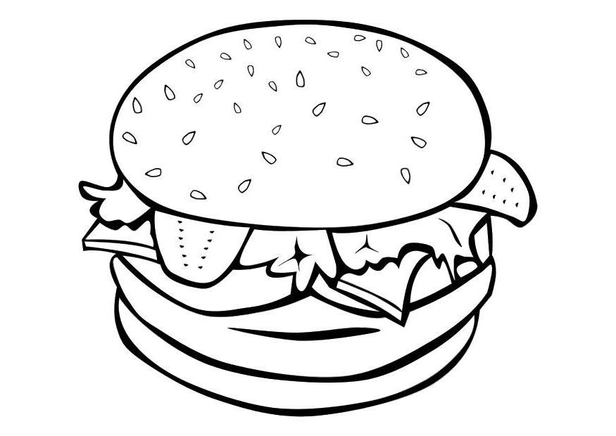 875x620 Free Coloring Pages Food