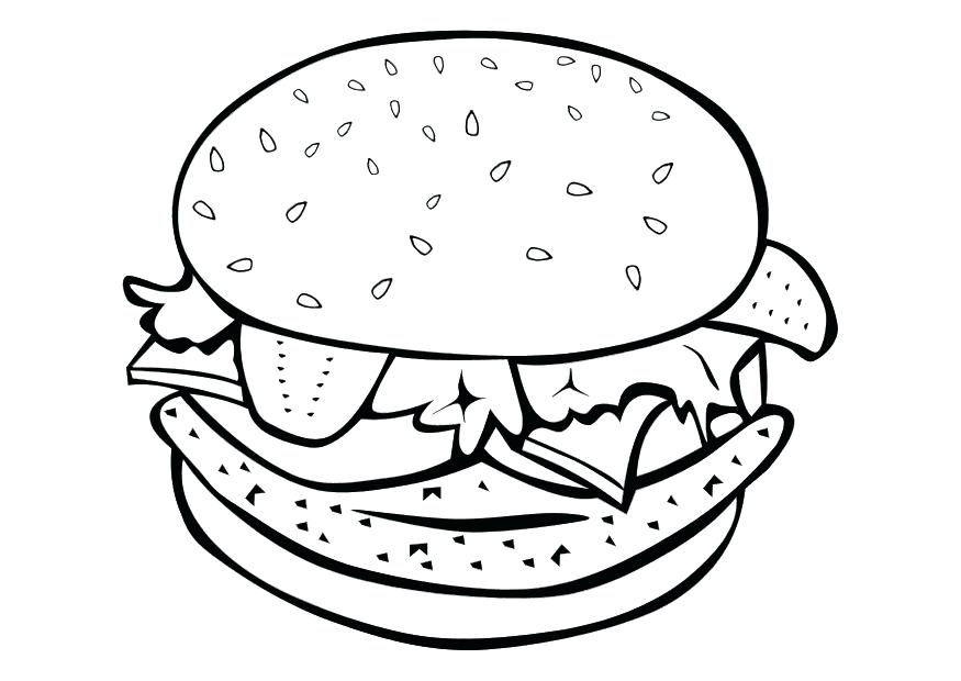875x620 Free Printable Food Coloring Pages For Kids Free Coloring Pages