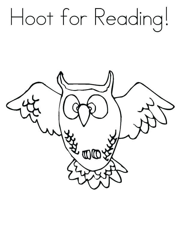 600x776 Great Horned Owl Coloring Page Great Horned Owl Coloring Page Free