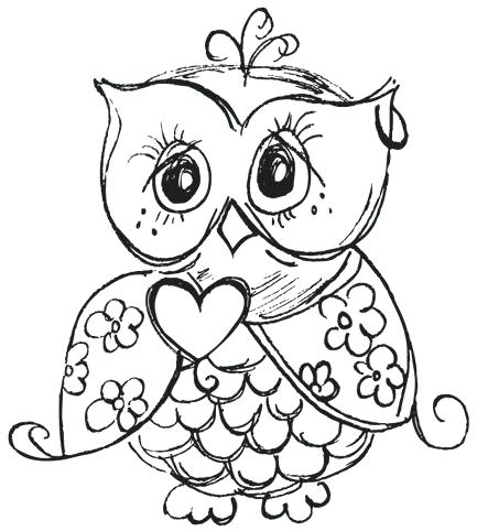 433x482 Owls Coloring Pages Amusing Owls Coloring Pages For Coloring Books