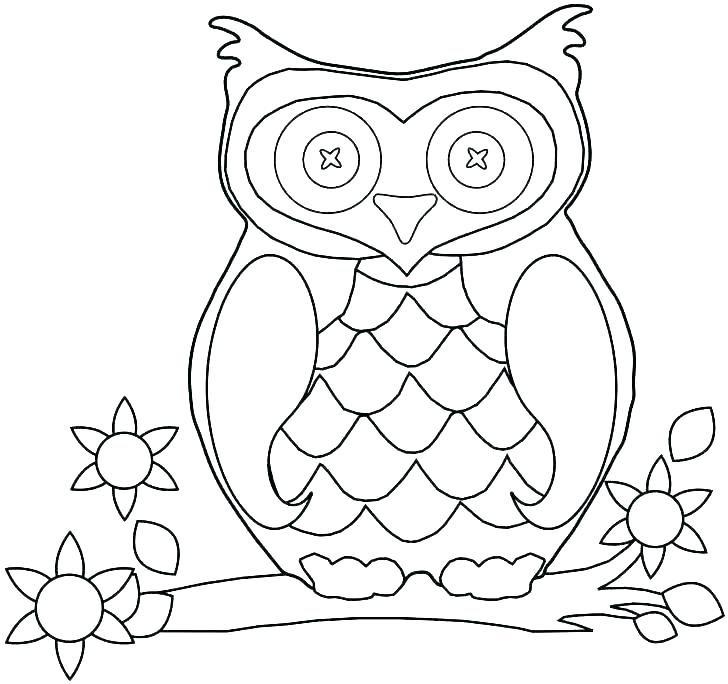 728x684 Printable Owl Coloring Pages Adults Color Pages Free Printable
