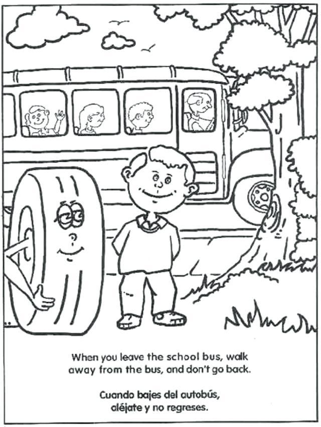 640x850 Coloring Page School Bus Bus Coloring Page School Bus Coloring