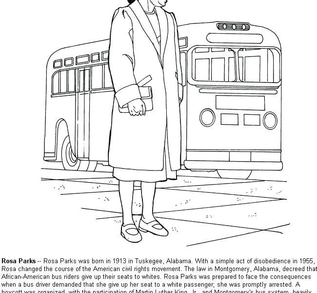 650x600 Rosa Parks Coloring Parks Coloring Sheet Fancy Parks Coloring Page