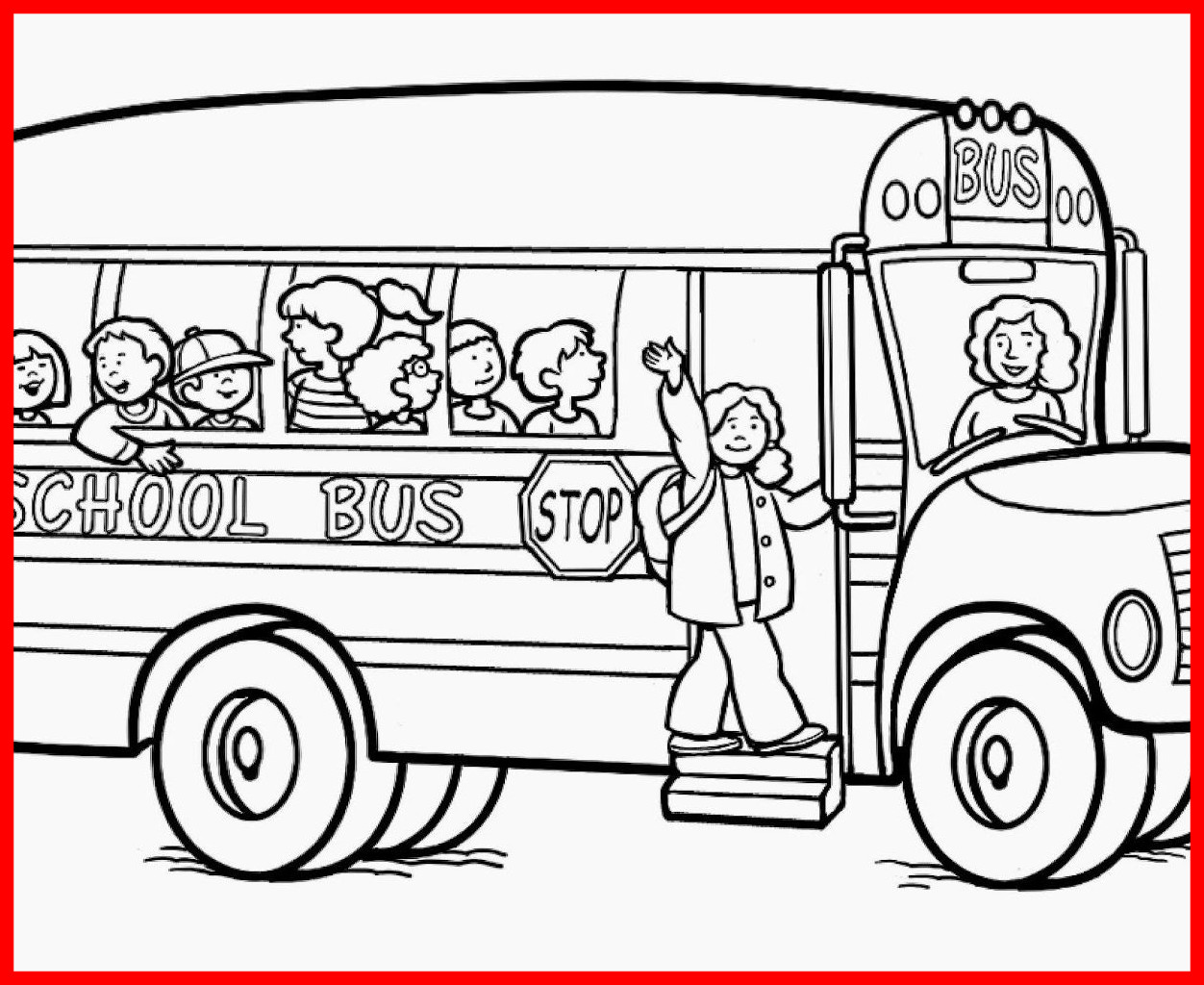1252x1024 Stunning Get This School Bus Coloring Pages Printable Fyo Pic