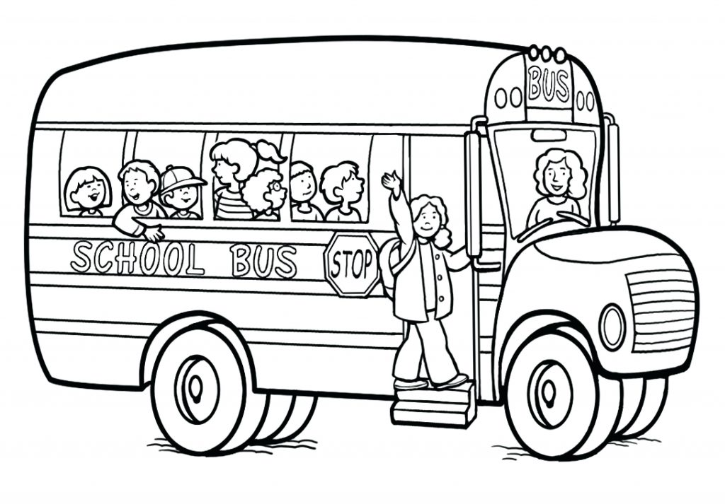 1024x713 Coloring Page Bus Coloring Pages School Page Vw Sheets Bus