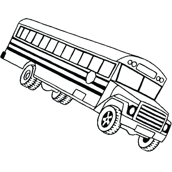 600x600 School Bus Coloring Page Bus Coloring Pages Bus Coloring Pages