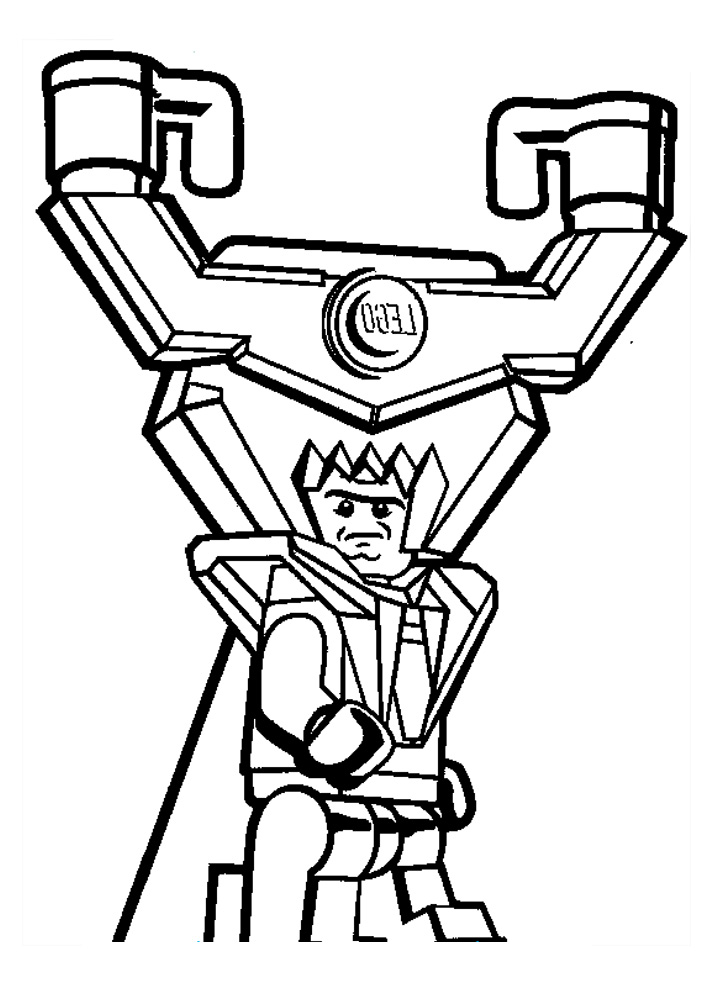 712x986 Lego Movie Adventure Lord Business Coloring Pages