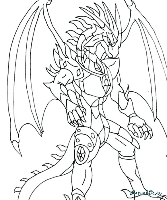 582x700 Business Bakugan Coloring Pages Of Drago Entry Level Resume Home