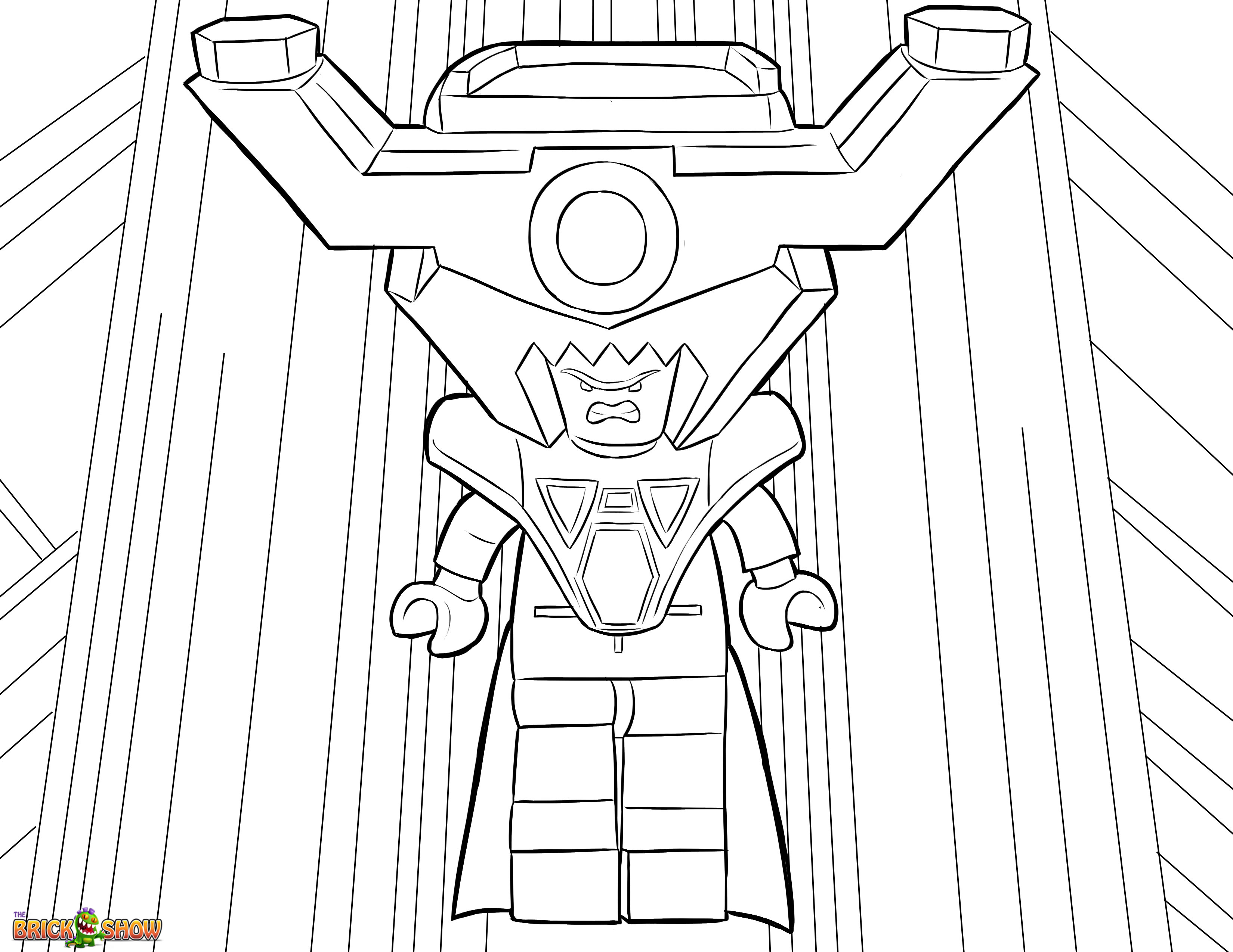 3300x2550 Lord Business Coloring Page Printable Sheet The Lego Movie
