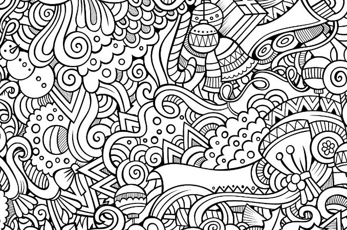 678x450 Busy Coloring Pages Crazy Busy Coloring Pages For Adults Page