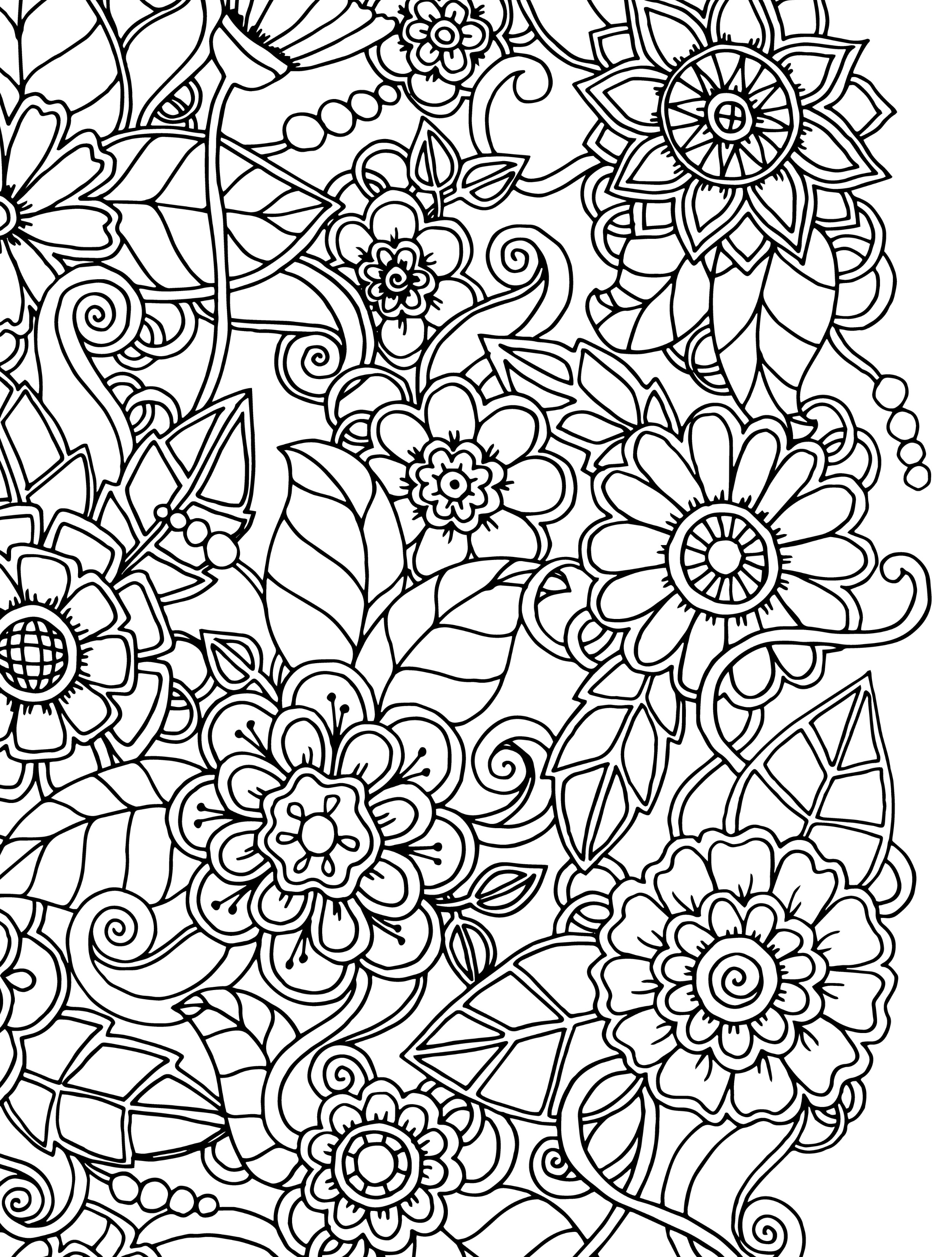 2500x3300 Busy Coloring Pages Busy Coloring Pages Crazy Busy Coloring