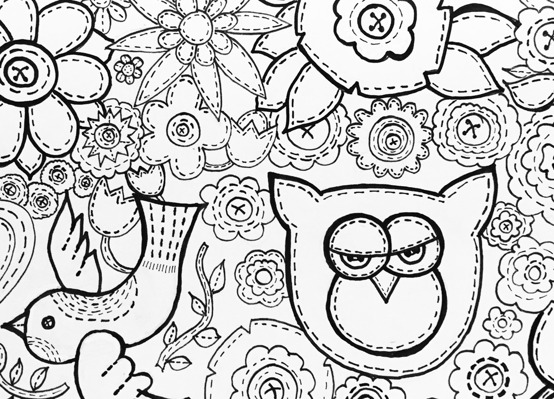 1100x793 Busy Coloring Pages Busy Coloring Pages Download Busy Coloring
