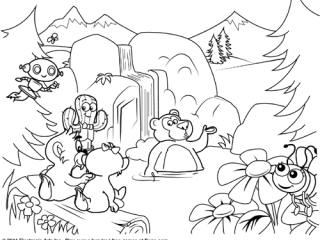 320x240 Busy Coloring Pages Free Pogo Coloring Pages Childrens Coloring