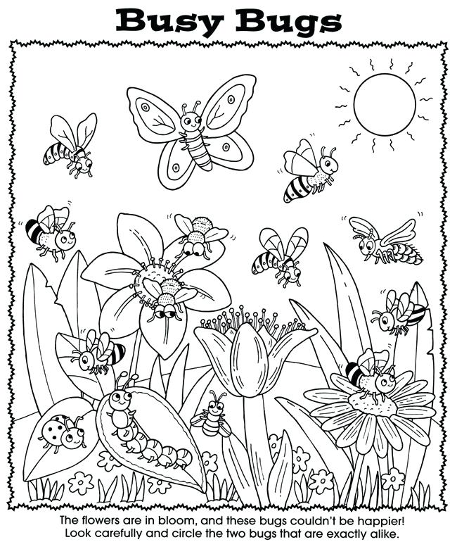 650x770 Coloring Bugs Bold And Modern Busy Coloring Pages Busy Bugs