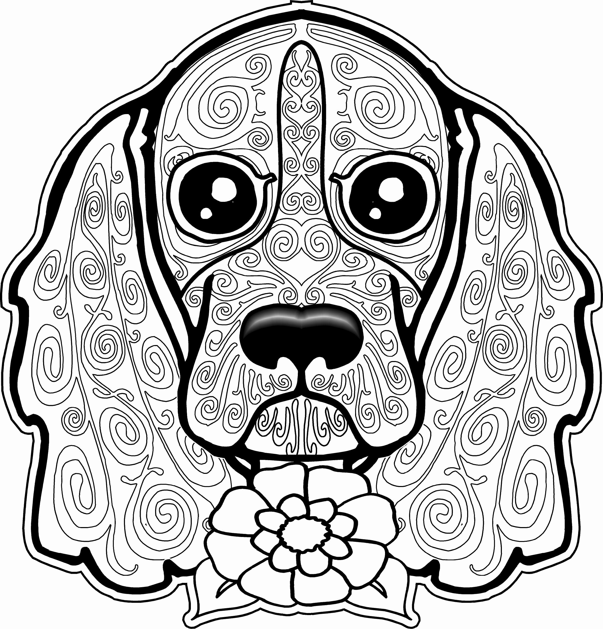 2379x2481 Free Printable Sugar Skull Coloring Pages Beautiful Crazy Busy