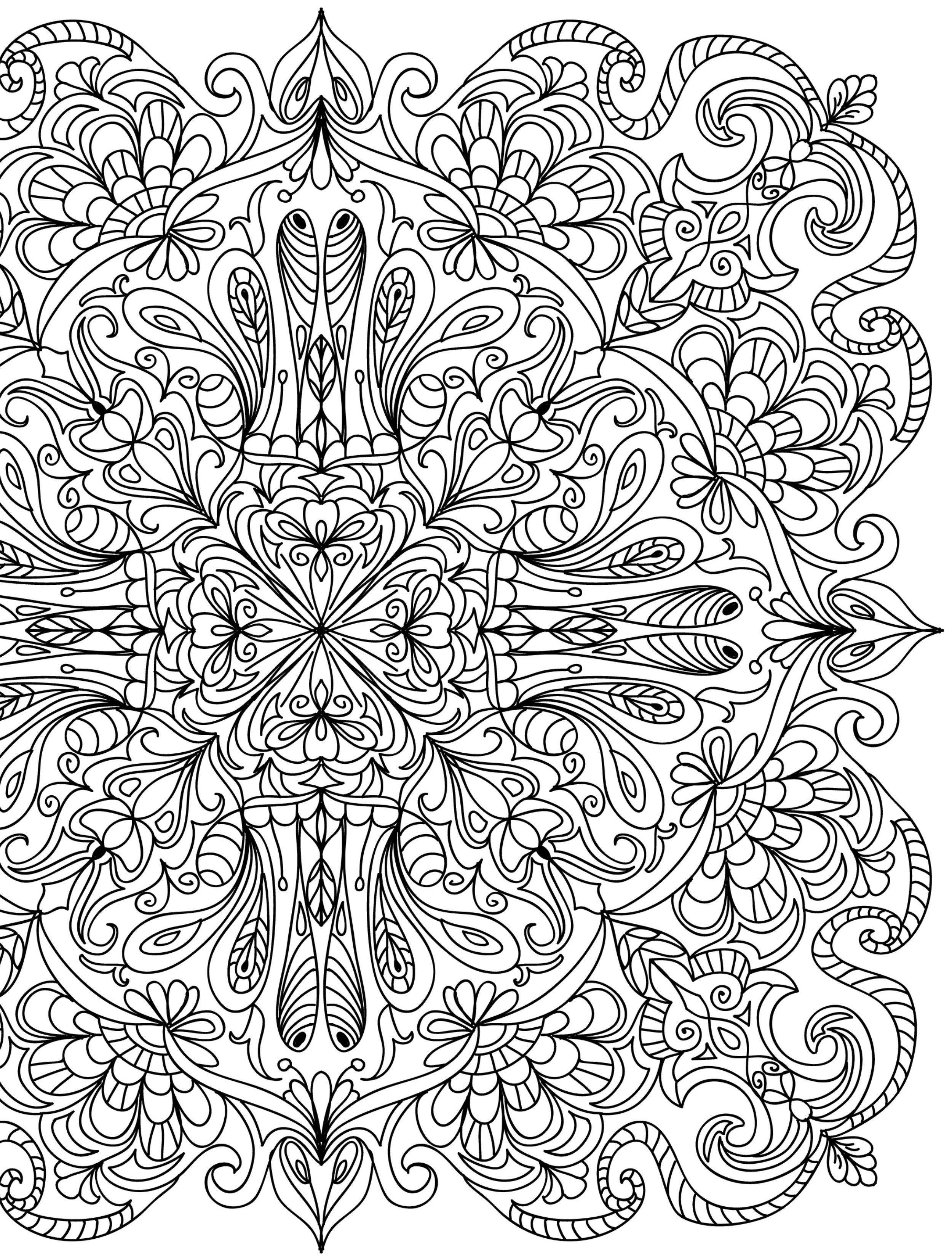 2500x3300 Crazy Busy Coloring Pages For Adults Adult Coloring Pages