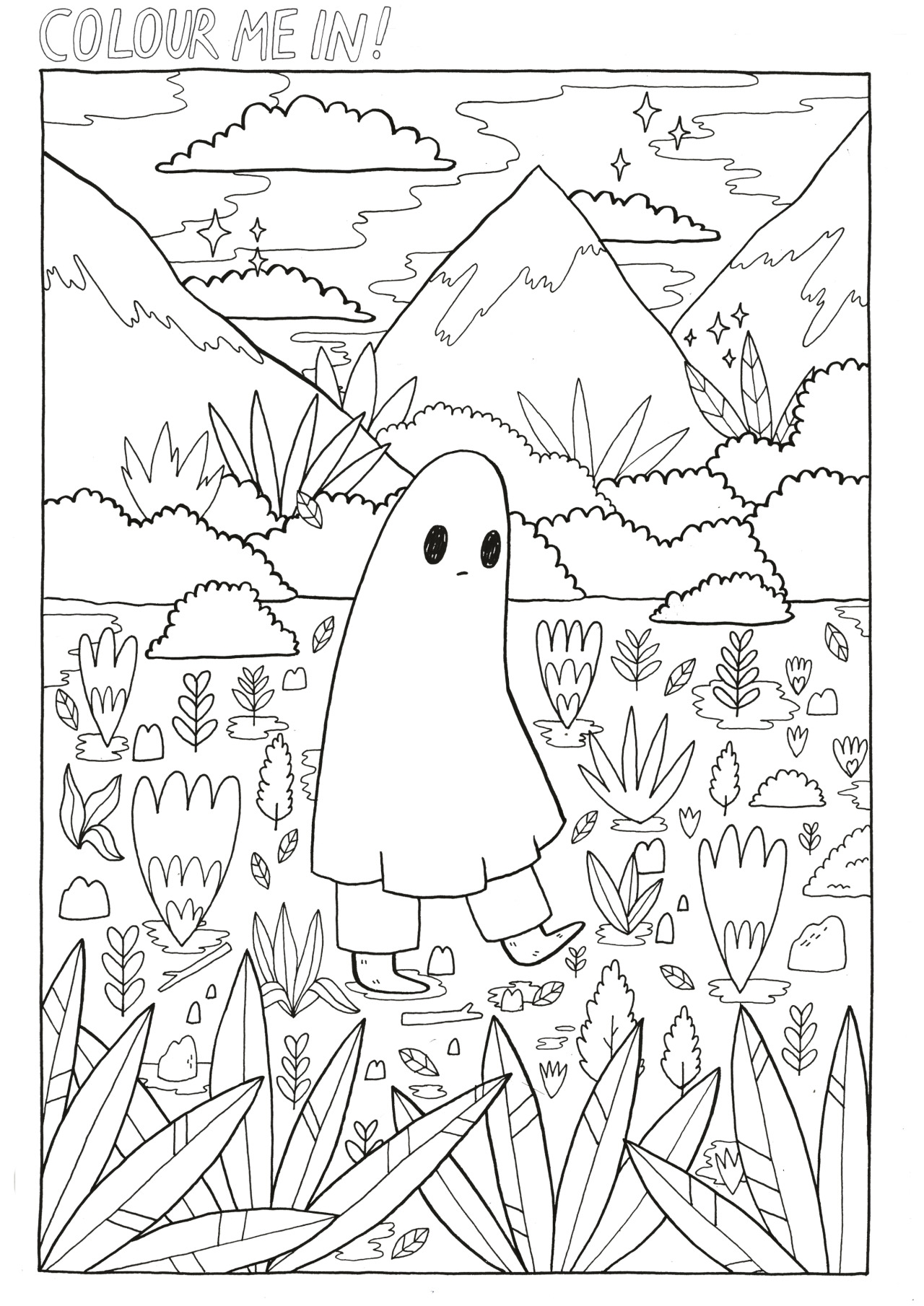 1280x1810 Aesthetic Coloring Pages Collection Coloring For Kids