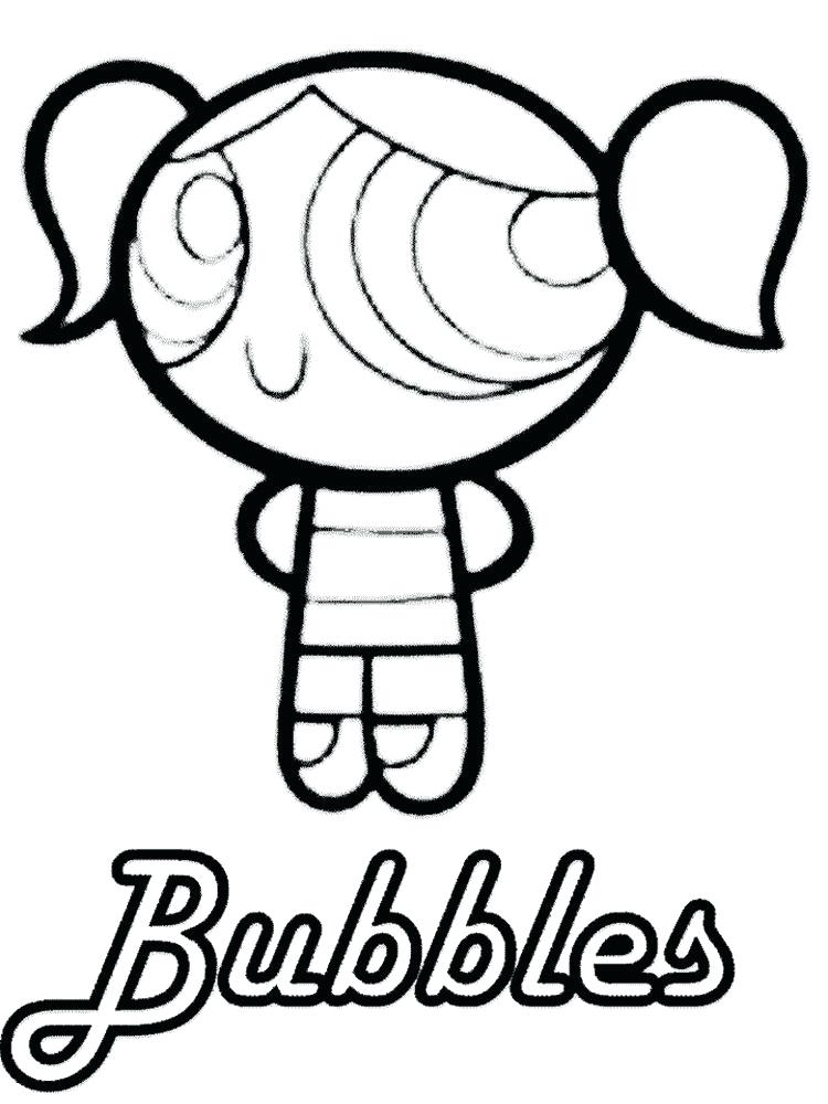 750x1000 Powerpuff Coloring Pages Girls Buttercup Coloring Collection