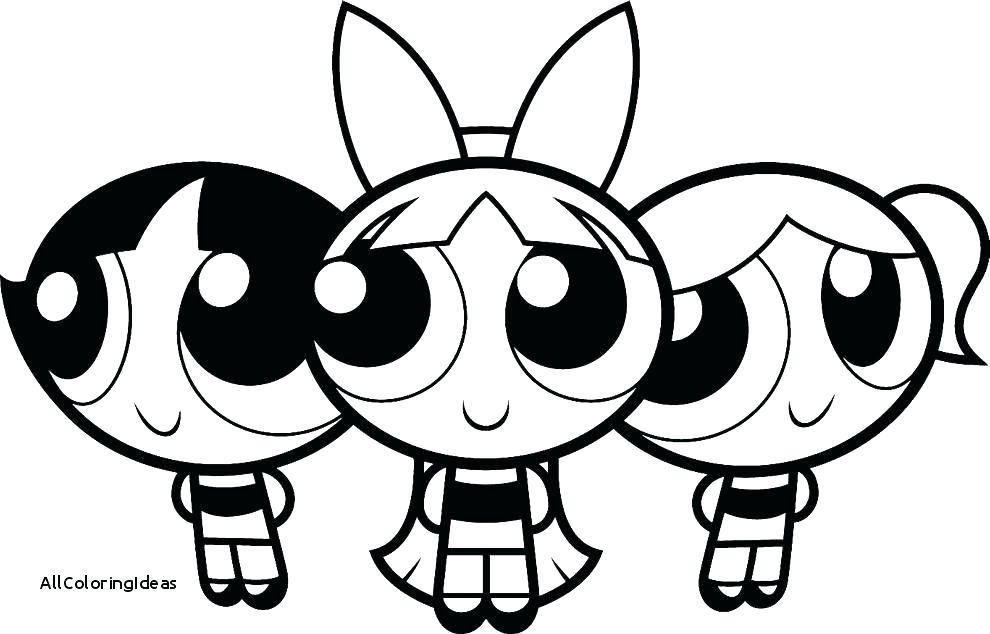 990x634 Powerpuff Coloring Pages Girls Z Bubbles Coloring Pages Powerpuff