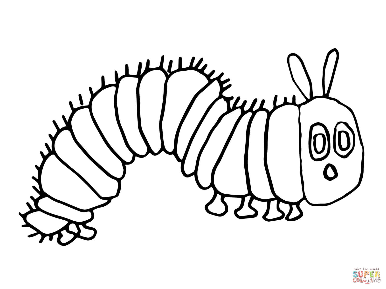 1600x1200 The Very Hungry Caterpillar Coloring Pages, Get This The Very