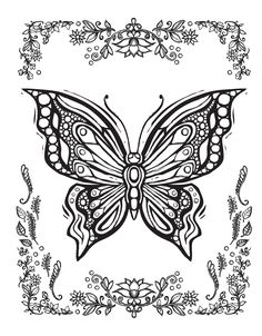 236x302 Butterfly Coloring Page Butterflies To Color