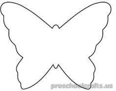236x185 Butterfly Coloring Pages For Kids