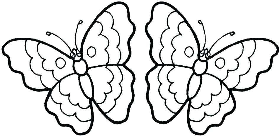 948x462 Coloring Pages Butterfly Butterfly Coloring Page Printable