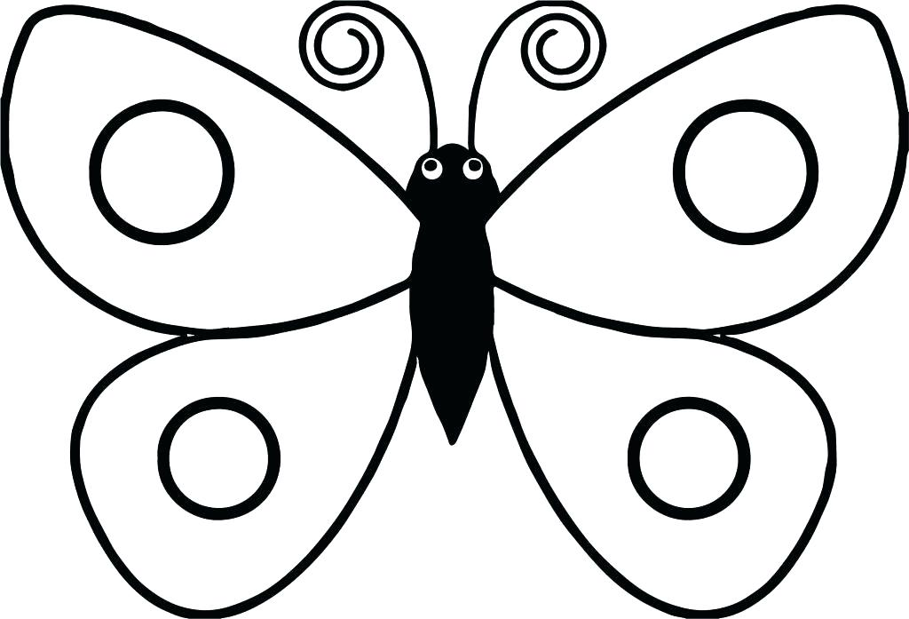 1024x697 Butterfly Coloring Page Related Post Butterfly Colouring Pages