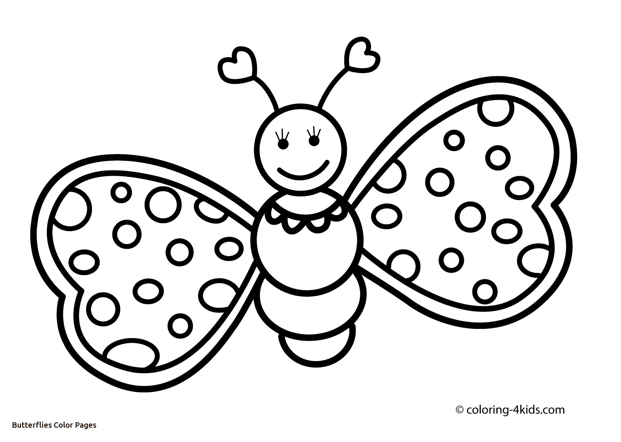 2079x1483 Powerful Picture Of A Butterfly To Color Pages Free Printable