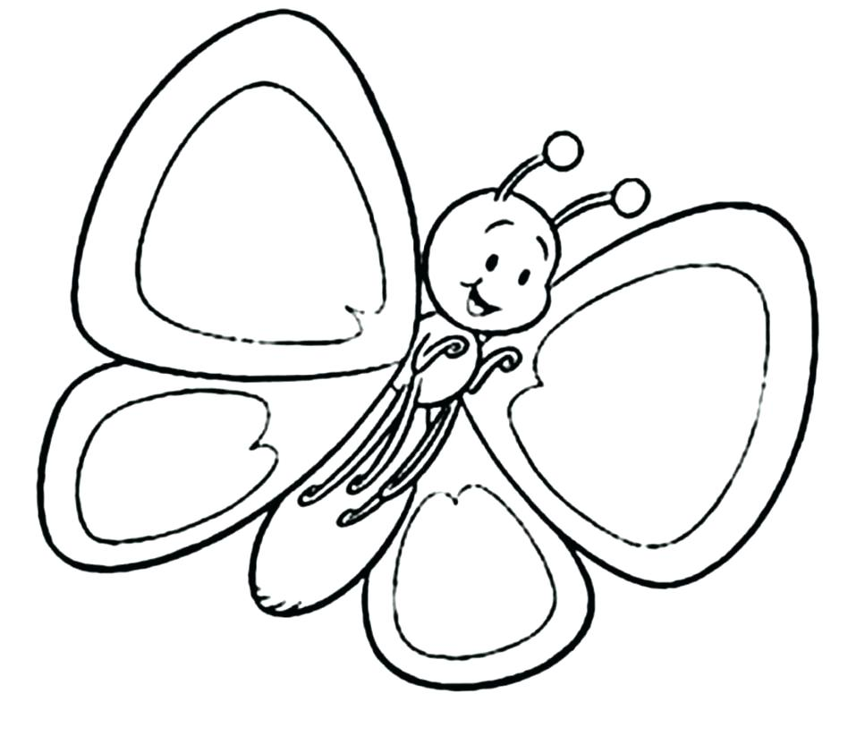 948x823 Toddlers Coloring Pages Butterfly Coloring Pages For Toddlers